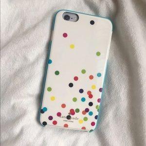 Kate Spade • iPhone 6 Plus Confetti Case